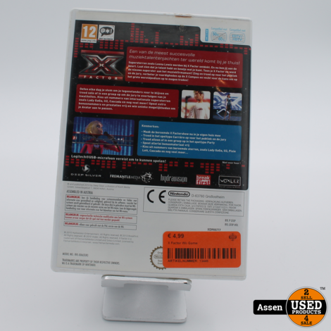 X Factor Wii Game