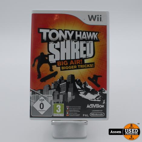 Tony Hawk Shred WII GAME