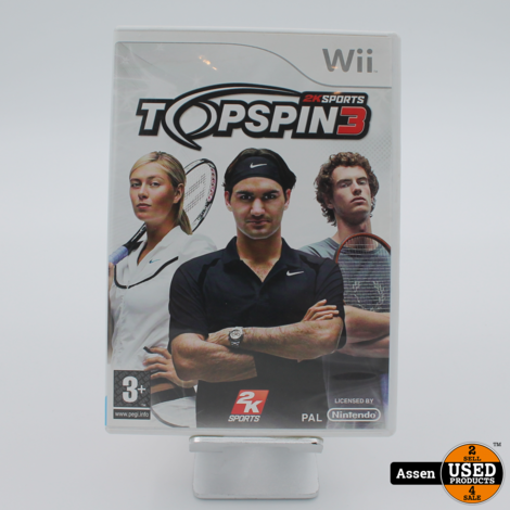 Topspin 3 Wii Game