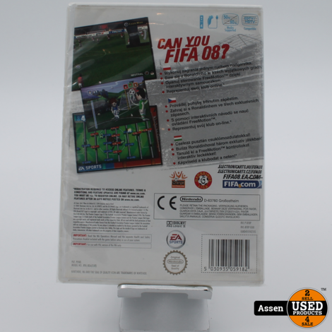 FIFA 08   Wii Game