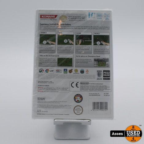 Pes 2008 | Wii Game