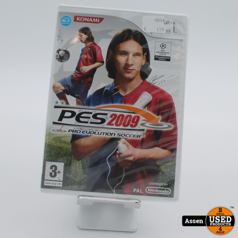 PES 2009   Wii Game