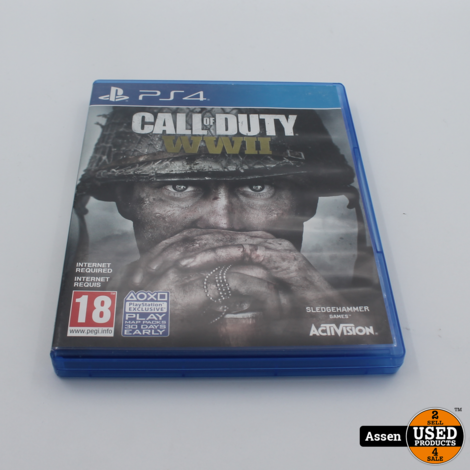 Call of WWII Ps4 game