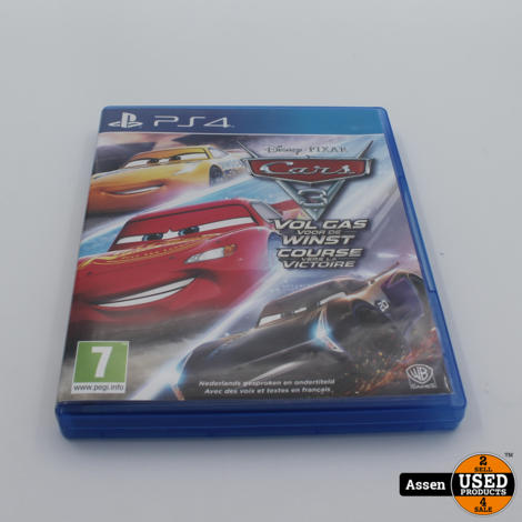 Cars Vol Gas Ps4 Game