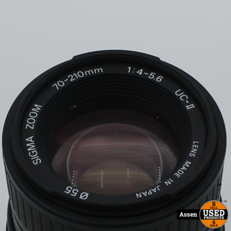 Sigma Zoom-k multi coated 70-210mm