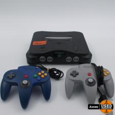 nintendo Nintendo 64 Console Compleet met kabels en 2 Controllers