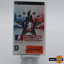psp PSP Game || World Tour Soccer 2