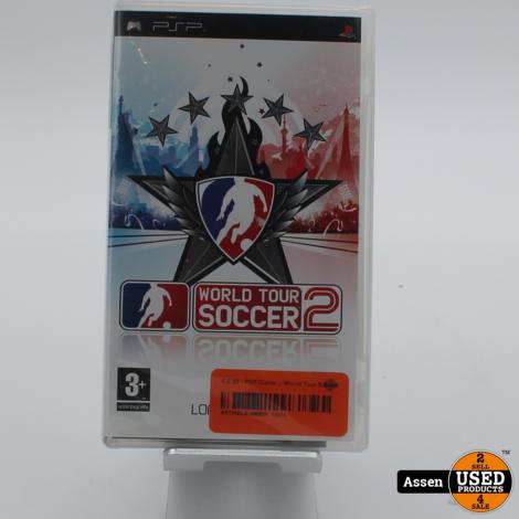 PSP Game || World Tour Soccer 2