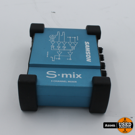Samson S mix 5 channel mixer