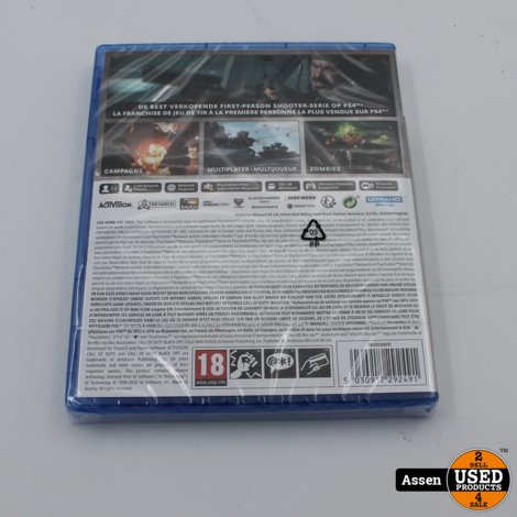 Playstation 5 Call of Duty Cold War Game