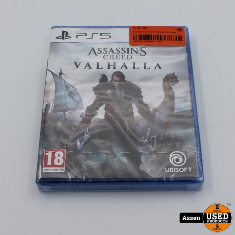 Assassins Creed 5 Valhalla PS5 Game