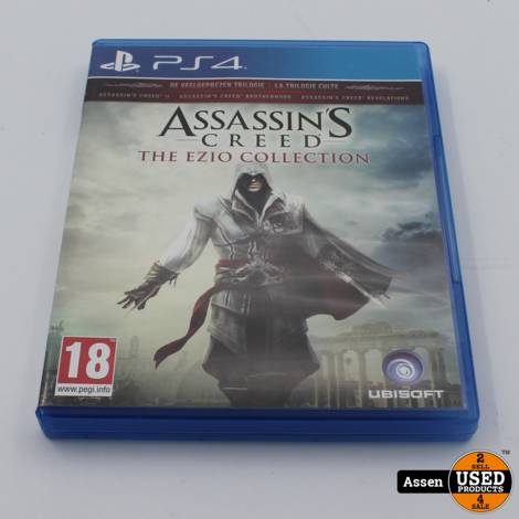 Assassins Creed Enzo PS4 game