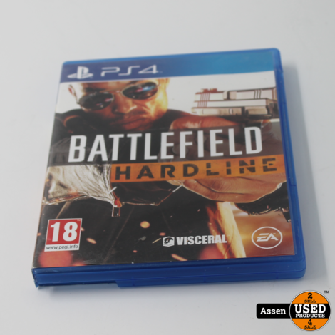 Battlefield Hardline Ps4 Game