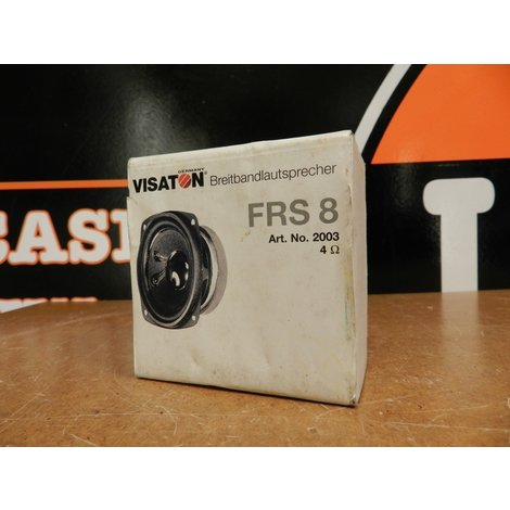 Visaton FRS8  Breedbandluidspreker in Goede Staat