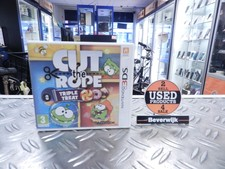 Cut The Rope Triple Treat Ninteno 3DS Game