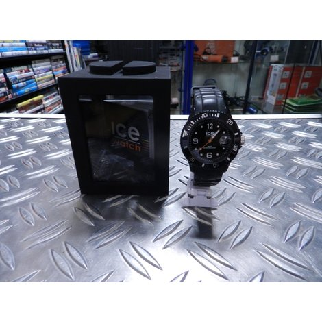 Ice Watch si.bk.u.s.09 Horloge Black   In Prima Staat