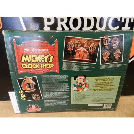 Mr. Christmas Holiday Innovation   Mickey's Clock Shop   Nieuw