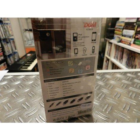 DGM ICB03-8 - 2000 mAh Powerbank / Oplader | Nieuw