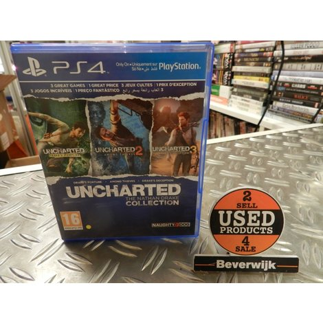 Uncharted Collection - PS4 Game