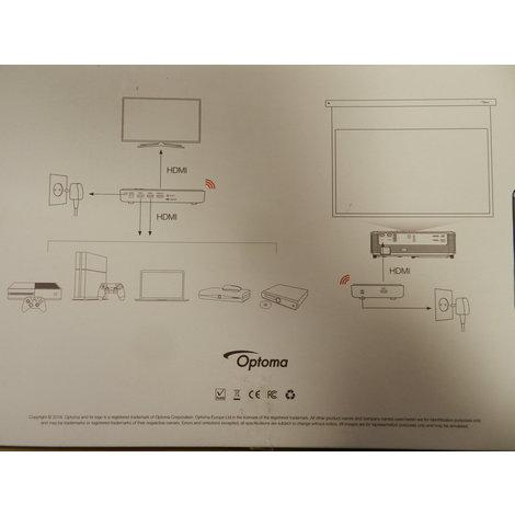 Optoma WHD 300 Draadloos HDMi Systeem - Nieuw!