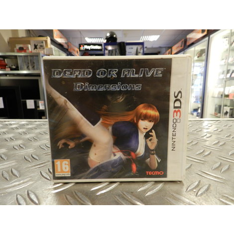 Dead Or Alive Dimensions - 3DS Game