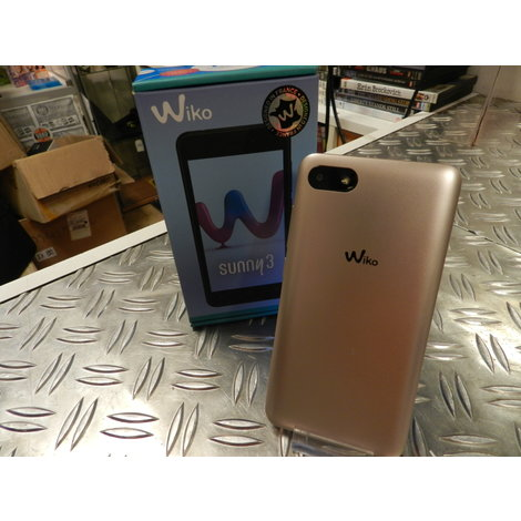 Wiko Sunny 3 Gold 8GB - In Goede Staat