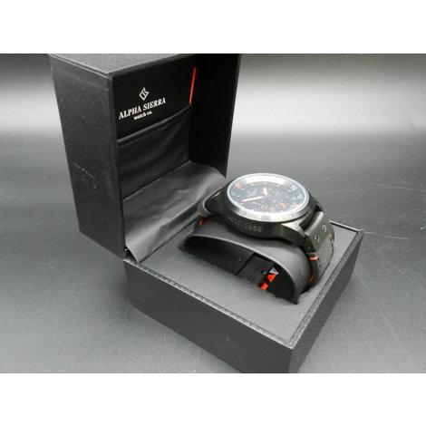 Alpha Sierra Defcon LGM32RL Heren Horloge | In Prima Staat