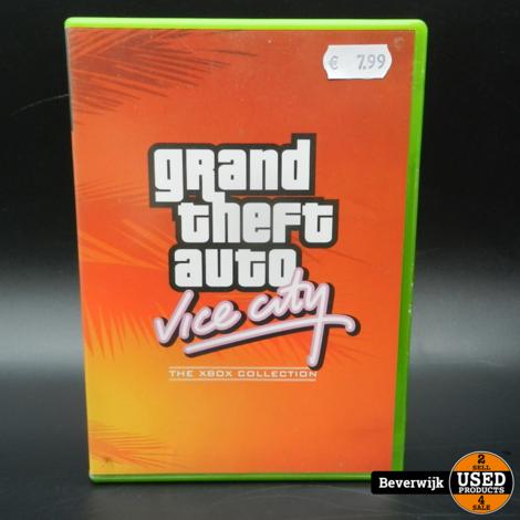 Grand Theft Auto Vice City - Xbox