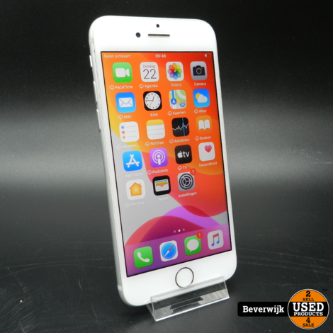 Apple iPhone 7 32GB Silver Batterij 84% - In Prima Staat