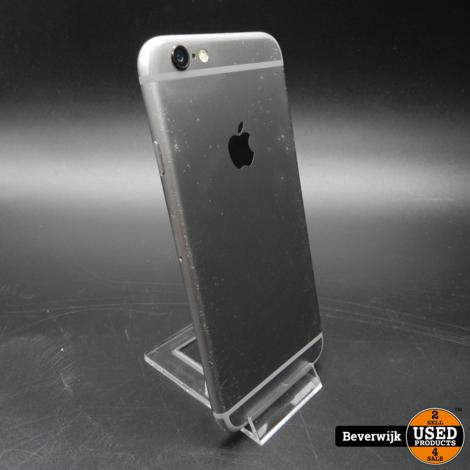 iPhone 6 16GB Space Gray - Inclusief garantie - In Goede Staat