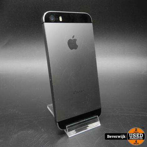 iPhone 5S 16GB Black in prima staat