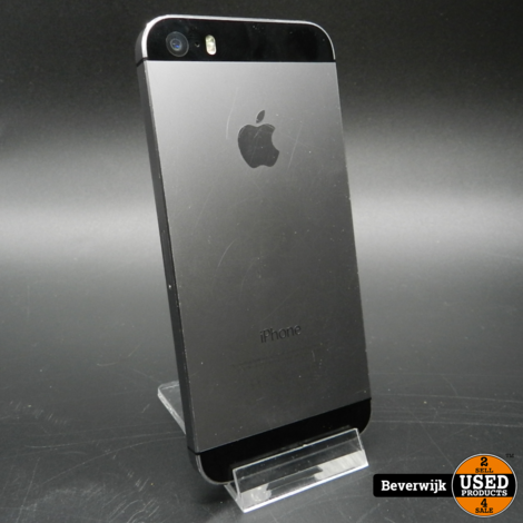 iPhone 5S 16GB Space Gray - In Goede Staat