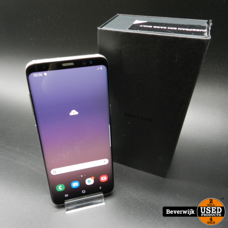 Samsung Galaxy S8 64GB Artic Silver - In Goede Staat