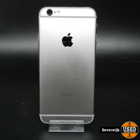 Apple iPhone 6 16GB Space Gray - In Goede Staat