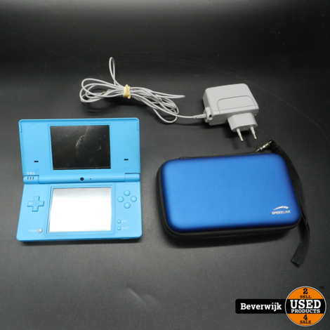 Nintendo DSI Spelcomputer Blauw - In Prima Staat