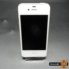 Apple Apple iPhone 4s 8GB Wit - In Goede Staat