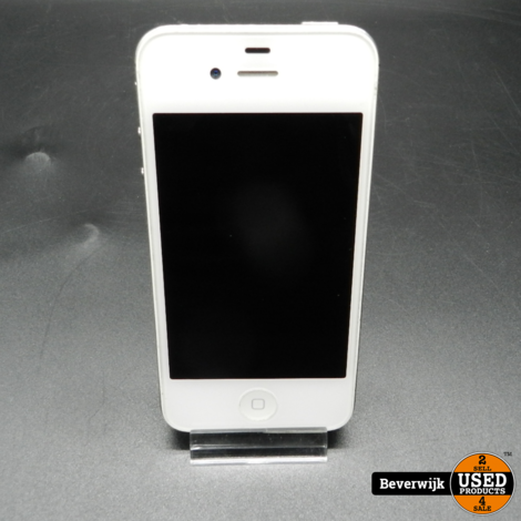 Apple iPhone 4s 8GB Wit - In Goede Staat