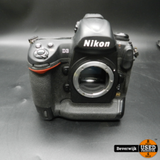 Nikon Nikon D3 Spiegelreflex Camera - Body Only - Battery Grip - Met oplader - 2x Accu