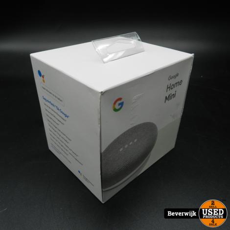 Google Home Mini Wit - NIEUW