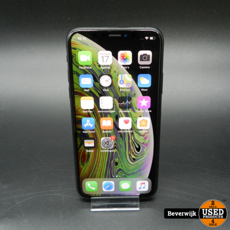 iPhone XS 64GB Space Gray - Accu 92% - In NETTE Staat
