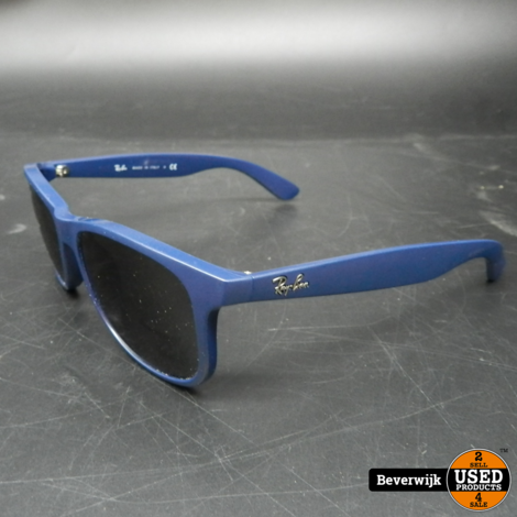 Ray-Ban RB 4202 Andy Blauw Zonnebril - In Goede Staat
