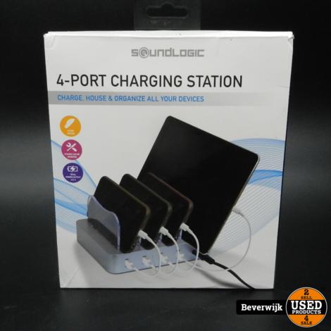 Soundlogic 4-Port Charging station | In Goede Staat