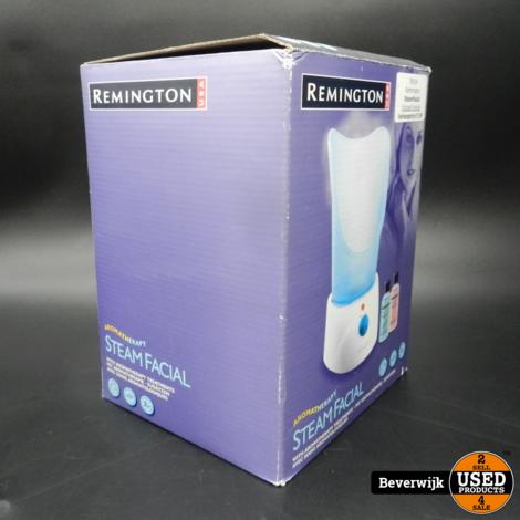Remington Steamfacial Aromatherapie - Nieuw in Doos