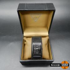GUESS Guess W0358G1 Montre Homme Convertible Black Men's Horloge - Gebruikte Staat
