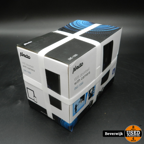 Alecto DVC-1000 Wifi Deurbel Nieuw