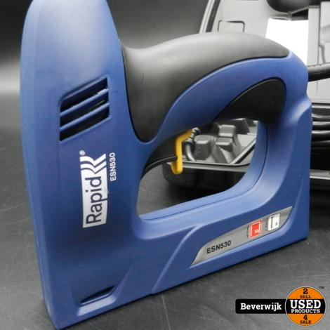 Rapid ESN530 elektrische tacker - Nieuw!