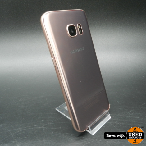Samsung Galaxy S7 32 GB Rose Gold In Goede Staat