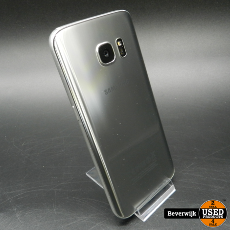 Samsung Galaxy S7 32 GB Silver In Goede Staat