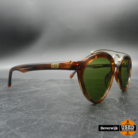 Vintage Sunglasses Ray-Ban B&L Gatsby Style 8 W1523 - In Goede Staat