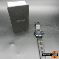 LG LG G Watch R Smartwatch 4 GB - in Goede Staat